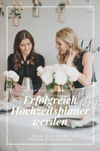Der Online Kurs Erfolgreich Hochzeitsplaner werden von der Wedding Planner School