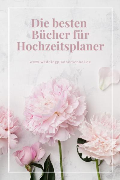 Die besten Bücher für Hochzeitsplaner
