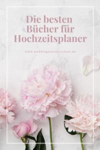 Die besten Bücher für Hochzeitsplaner – Wedding Planner School. Wir verraten euch auf unserem Blog, welche unsere Lieblinge sind.