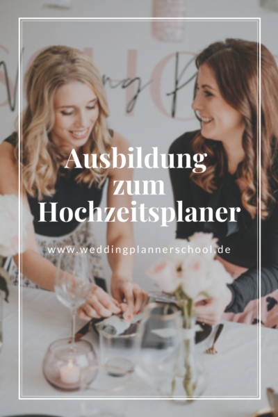 Ausbildung zum Hochzeitsplaner